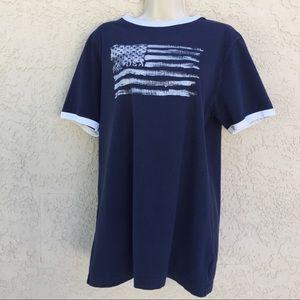 Ralph Lauren Polo Women's blue t-shirt. Size XL.